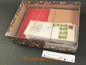 80696 - 1850-1980 USA  neutříděná selection of in 4 small stockb