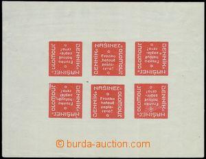80717 - 1918 NEWSPAPER PROVISIONAL  Pof.NN18PL, journal Našinec / O