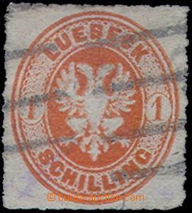 80722 - 1867 Mi.9B, value 1Sch orange, wide perforation, exp. Rieger