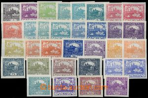 80773 -  Pof.1-26, without No. 6, 9 and 13, complete set of, in addi