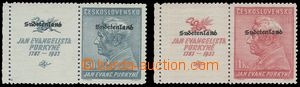 80777 - 1938 Konstantinsbad Mi.22-23 with L coupons, exp. Richter
