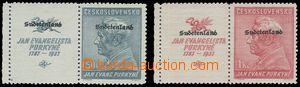 80777 - 1938 Konstantinsbad Mi.22-23 s levými kupóny, zk. Richter