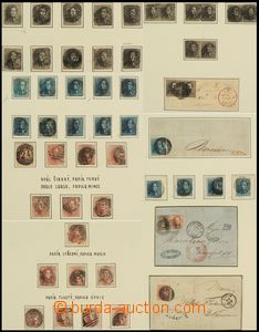 80873 - 1849-1905 BELGIUM  specialized collection classical stamp, i