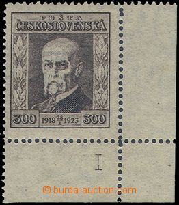 81060 -  Pof.179, Jubilee 300h brown, corner piece with margin and p