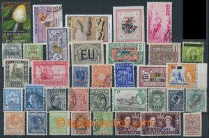 81141 - 1892-85 sestava 36ks známek z různých zemí, většinou e