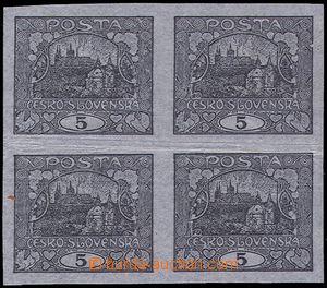 81160 -  trial print 5h black, arrangement printings E. Karl, cigare