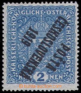 81203 -  Pof.48b Pp, 2K Znak, žilkovaný papír, převrácený pře