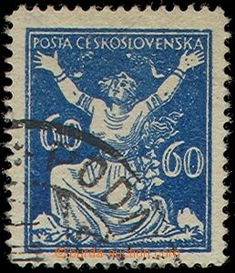 81273 -  Pof.157F, 60h blue, forgery to defraud the post, fragment C