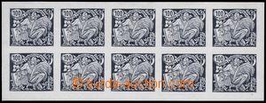 81362 -  trial print 100h in black color, print original galvan,10-b