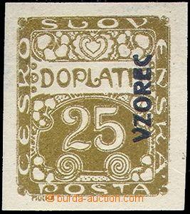 81378 - 1919 Pof.DL5vz, 25h s přetiskem VZOREC vpravo nahoru, bez p