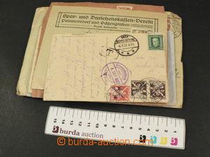 81462 - 1926-29 ČSR I.  partie 31ks různých celistvostí s razít