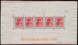 81507 - 1921 Mi.121 PL, Velkovévodkyně Charlotte, kat. 450€, zvl