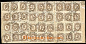81574 - 1903 undetached 3 pcs of blank form/-s for úhradu compartme