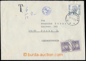 81619 - 1979 ČSR II.  dopis zaslaný z Belgie do ČSR, s lodním fi