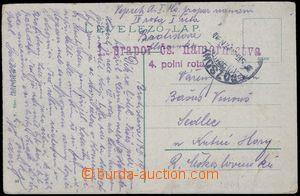 81624 - 1919 1. prapor čs. námořnictva, 4. polní rota, 2-řádko