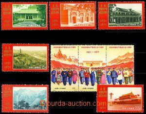 81650 - 1971 Mi.1074-1082, Communism, c.v.. 210€