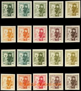 81738 -  TZ values 80h and 90h in 10 various shades green, red and b