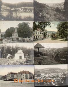 81780 - 1910-25 ÚSTÍ N. O. - comp. 8 pcs of Ppc, interesting views