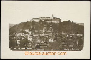 81781 - 1928 BRNO - unusual view over housetops on/for Špilberk, Ma