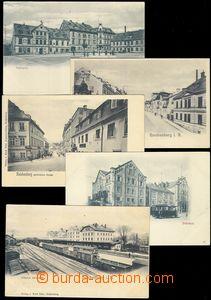 81784 - 1900 LIBEREC (Reichenberg) - comp. 5 pcs of Ppc, very intere