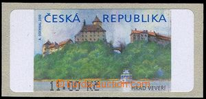 81838 - 2000 Pof.AT1, Veveří (castle), variant I, value 11CZK with