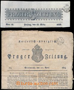 81849 - 1814-30 complete newspaper PRAGER ZEITUNG from  year 1814 an