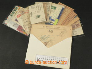81902 - 1880-1960 WHOLE WORLD  remaining selection of letters and po