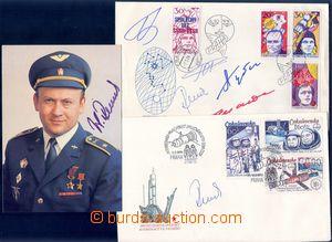 81905 - 1978-79 KOSMOS / REMEK Vladimír (*1948), český kosmonaut, se