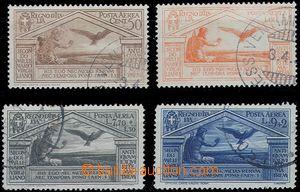 81919 - 1930 Mi.354-357, Airmail, c.v.. 550€