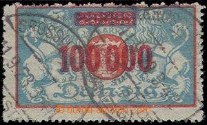 81941 - 1923 Mi.150I, 100 tis. / 20 tis. M, otevřená čtvrtá 0 v