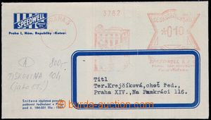 81948 - 1938 SPEEDWELL  PRAGUE 5/18.7.38, advertising printing produ