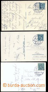 81983 - 1936-38 3 pcs of Ppc with nice CDS USTČORNA, JASINA, VOLOVE