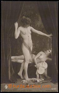 82324 - 1920 nahé dívky v budoiru, značka HSB; nepoužitá, dobr�