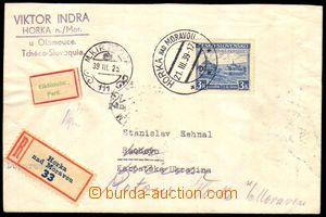82542 - 1939 R-dopis vyfr. zn. Pof.351, Sněm Karpatské Ukrajiny, zas