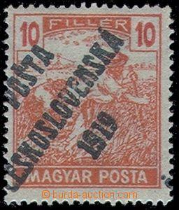 82900 -  Pof.105a MAGYAR POSTA, mírný posun přetisku, zk. Gi