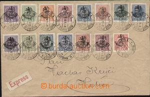 83067 - 1918 dopis vyfr. zn. Pof.RV85-99, Budějovické vydání, DR