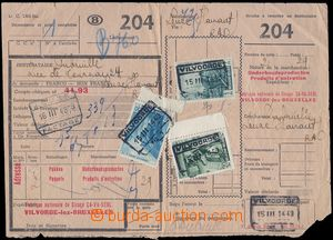 83118 - 1948 pass document/attribut on 2 parcels, address pre-printi