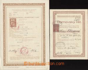 83476 - 1911-41 ČSR I., RAKOUSKO-UHERSKO  sestava 4ks úředních k