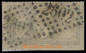 84418 - 1869 Mi.32  Napoleon III., známka nalepena na bílém podkl