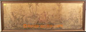 84730 - 1880 GOBELÍN  holandská práce, beduíni na poušti, rozm�
