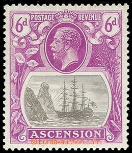 84855 - 1924 Yv.16 (Mi.17) Jiří V. + loď, pěkná kvalita, kat. 1