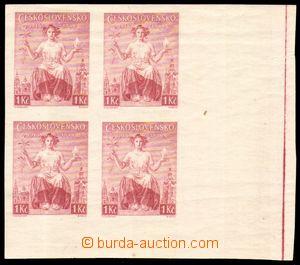 85113 - 1938 nevydaná známka 1Kč (20. výročí vydání prvních čs. znám