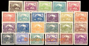 85123 -  Pof.1-26 základní řada 23ks známek Hradčany (bez 6N, 9