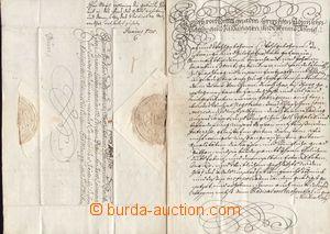 85169 - 1705 JOSEF I. HABSBURSKÝ  vlastnoruční podpis, císařský dopi