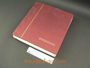 85335 -  ALBOVÉ LISTY - RAKOUSKO 1850-1982, albové listy Schaubek v