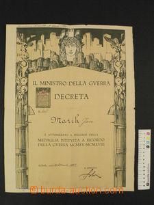 85359 - 1922 ČSR I.  Pamětní medaile pro čs. dobrovolníky z let