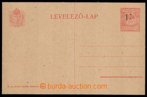 85615 - 1919 CRV22, 15h/10f Kremnické provizorium, výrazný nedotisk
