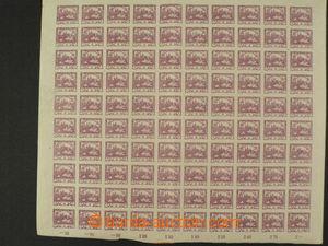 85909 - 1918 ČSR I. / HRADČANY  sestava 16ks známek s DV, 3x 4-bl