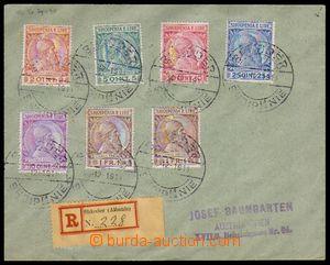 86599 - 1913 filateliticky motivovaný R-dopis do Vídně, vyfr. zn. Mi