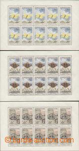86652 - 1961 Pof.PL1217-1225, Motýli, kat. 4800Kč, velmi lehce oma